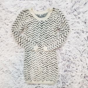 Charlotte Russe Eyelash Sweater Dress